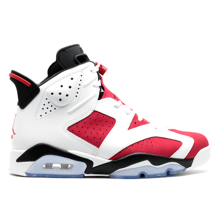 나이키 에어조던 6 카마인 MAN NIKE AIR JORDAN 6 RETRO CARMINE 384664-160