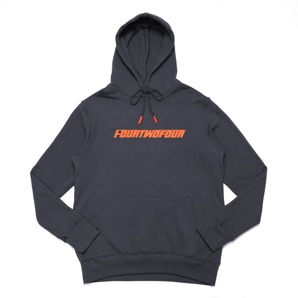 [해외] 424 후드 FASTFONT HOODED SWEATSHIRT