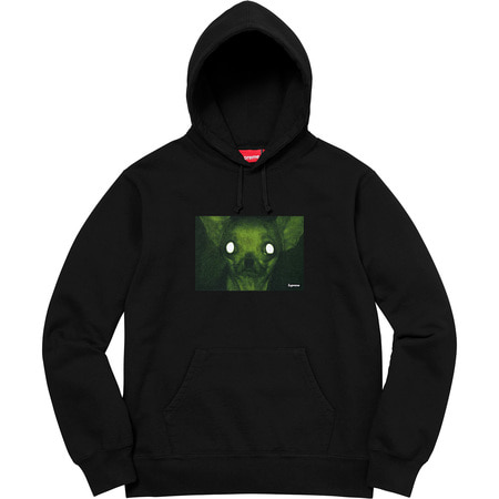 [해외] 슈프림 크리스 커닝햄 치와와 후드 Supreme Chris Cunningham Chihuahua Hooded Sweatshirt 18FW